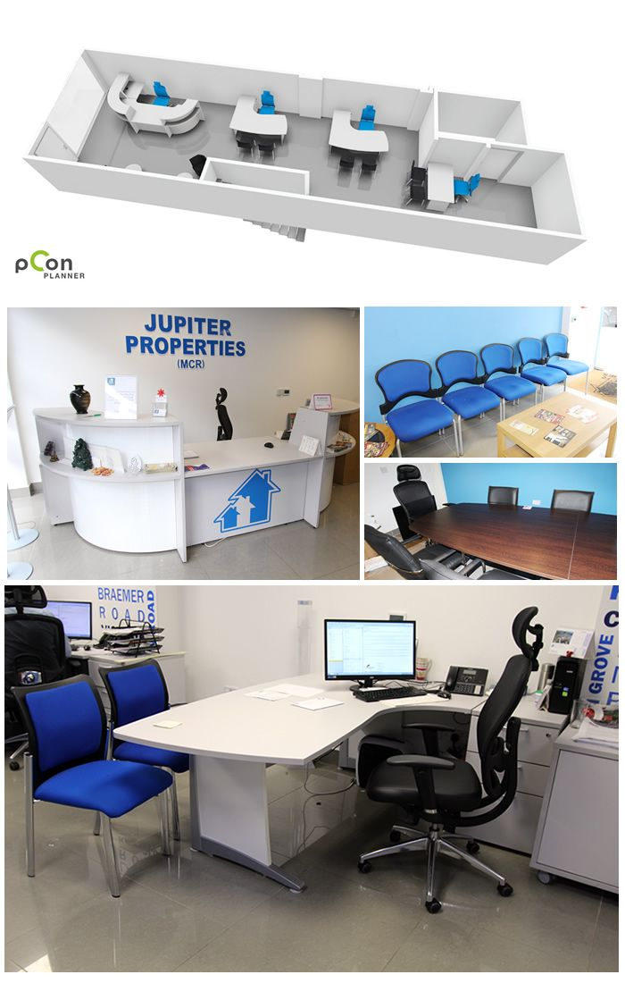 Jupiter Properties Manchester - Office Fit Out Case Study