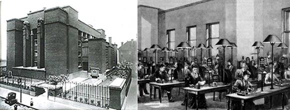 Open Plan Office 1900s