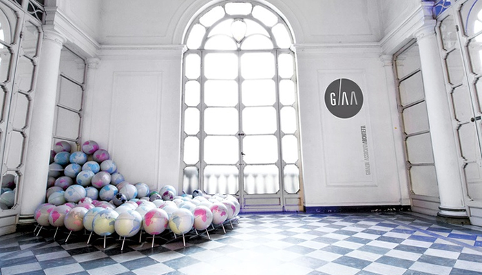 GAA Lobby Globes1