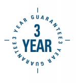 3 year gurantee