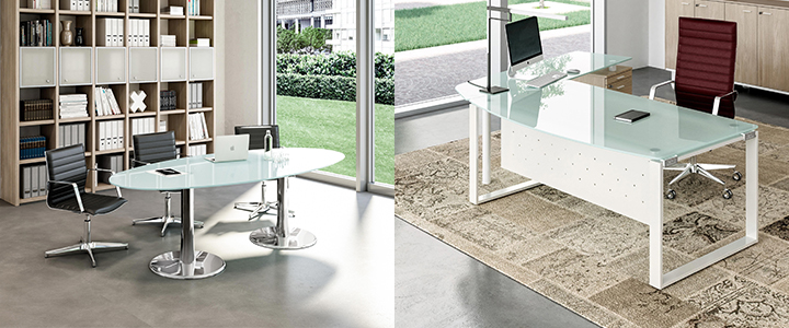 Footer Image Table and Desk