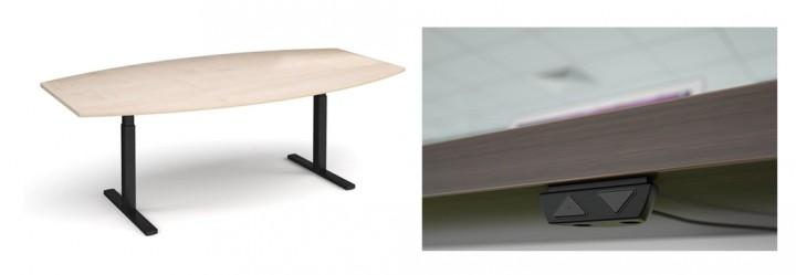 Elev8 Height Adjustable Meeting Table