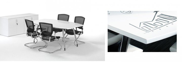 High Gloss Table - Office Reality