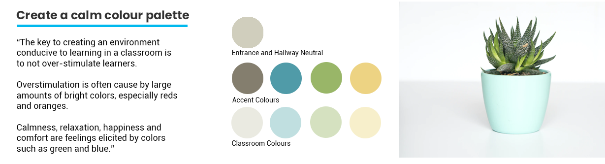 Colour Palette in the classroom