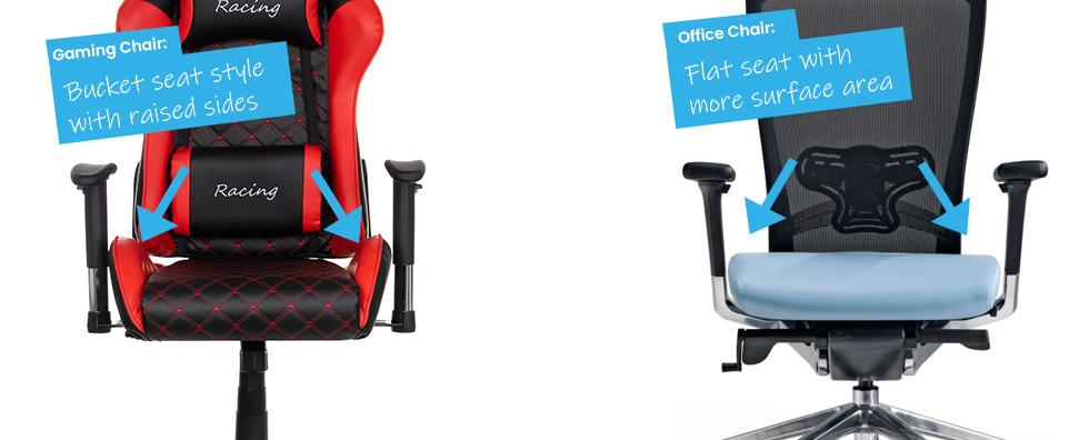 Buckett Seat VS Flat Seat