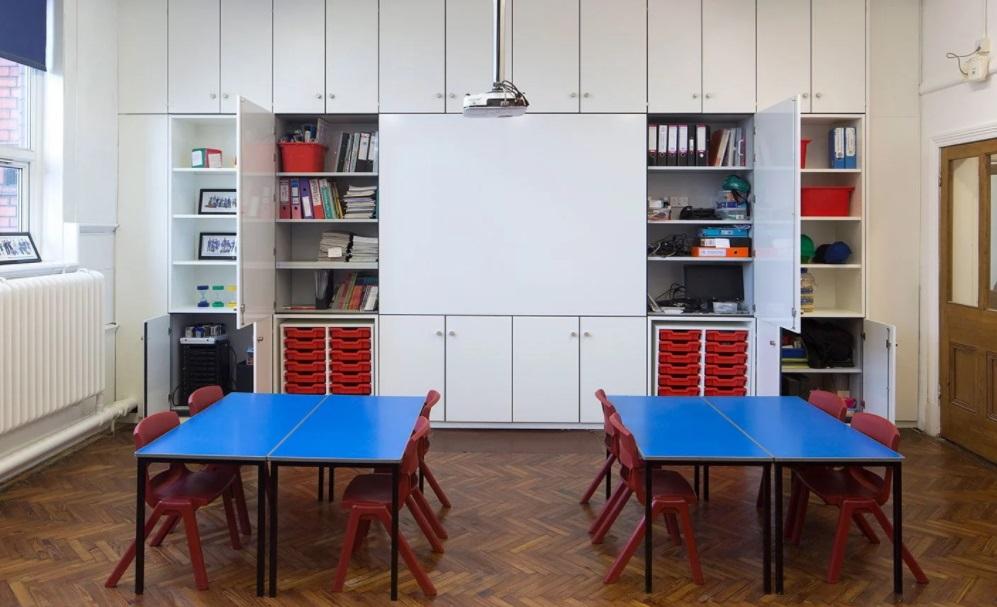 Storewall classroom