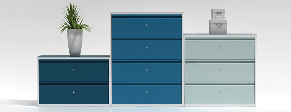 Lateral Storage Ideas For an Organised Workplace Blog Images