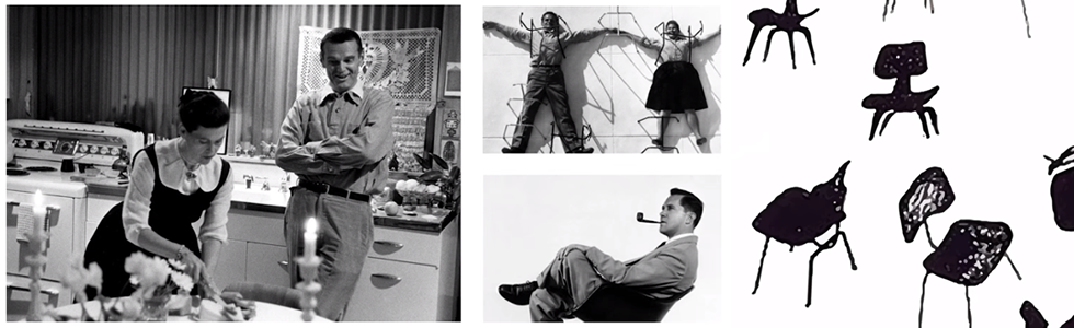 Did Charles and Ray Eames just 'step out for the day'?