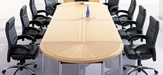 Harley Inlaid and Banded Boardroom Tables