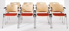 Plywood Conference Chairs