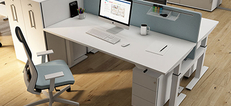 Novara Height Adjustable Desks