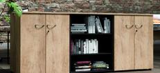 Scaffali Wooden Storage Range