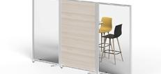 Floor Standing Protection Screens