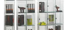 Zelta Wire Mesh Lockers