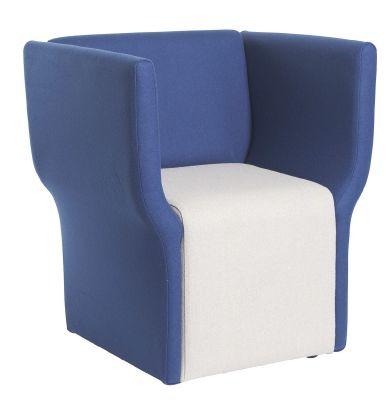 Fabric Tub Chair Side View