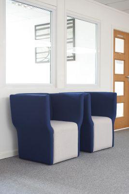 Fabric Tub Chairs Room Shot
