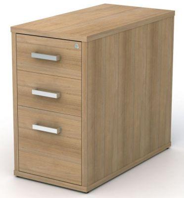 3 Drawer Desk Height Pedestal