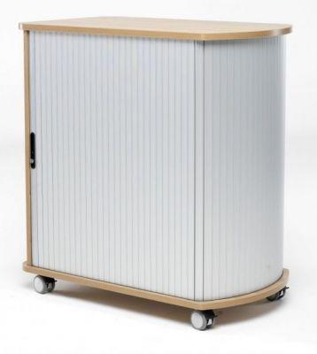 Mobile Tambour Cabinet