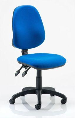 Majic Blue Swivel Chair