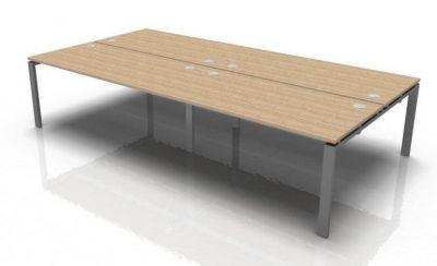 Saturn 4 Person Bench Desk