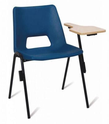 A1 Poly Chair With Writing Tablet