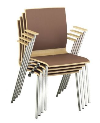 Sven Stackable Conference Armchair