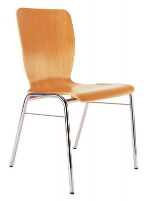 Wing Stackable Four Leg Conference Chair
