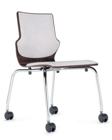 Converse Mobile Chair With An Upholstered Seat And Back