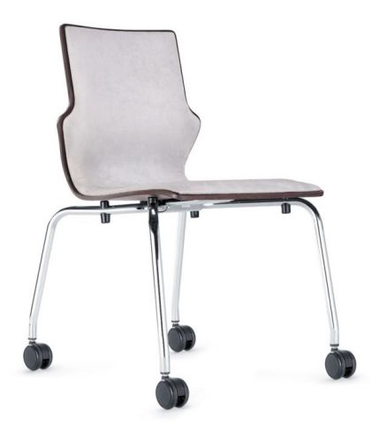 Converse Fully Upholstered Mobile Conference Seating