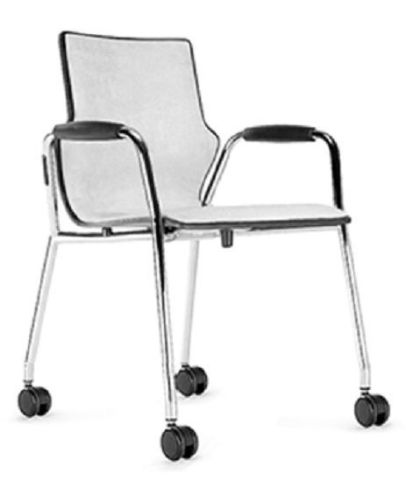 Converse Upholstered Mobile Armchair