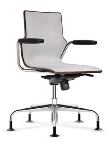 Converse Upholstered Swivel Conference Chair With Arms