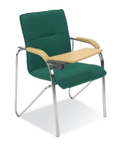 Samba Fully Upholstered Chair With Writing Tablet