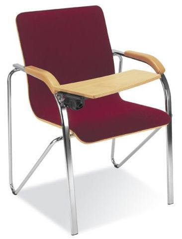 Samba Plus Upholstered Conference Chair With Writing Tablet