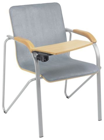 Samba Plus Upholstered Conference Chair And Writing Tablet