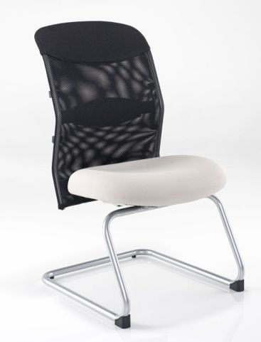 Crystal Mesh Back Visitors Chair