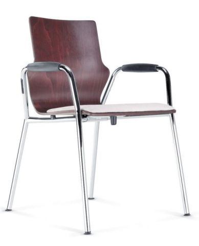 Converese Conference Armchair With An Upholstered Seat
