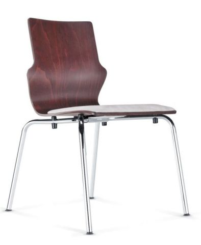 Converse Conference Chair With Upholstered Seat