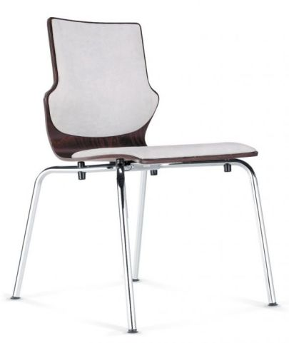 Converse Conference Chair With Upholstered Seat And Back