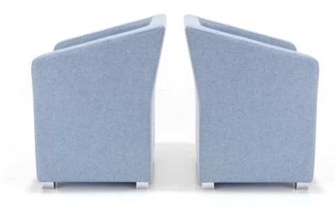 Jason Designer Tub Chairs Side View