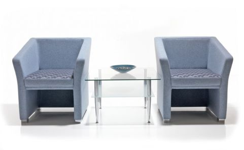 Jason Tub Chairs With Coffee Table
