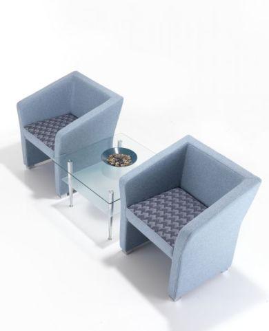 Jason Upholstered Tub Chairs Birds Eye View