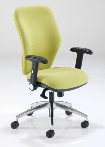Aero Task Chair With Height Adjustable Drop Down Arms