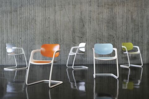 Contemporary Soul Polypropylene Conference Chairs In A Variety Of Colours