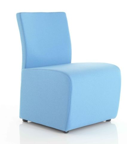 Atora Modular Low Chair In Blue