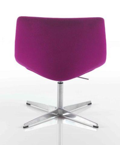Curveo Designer Tub Chair Rear View
