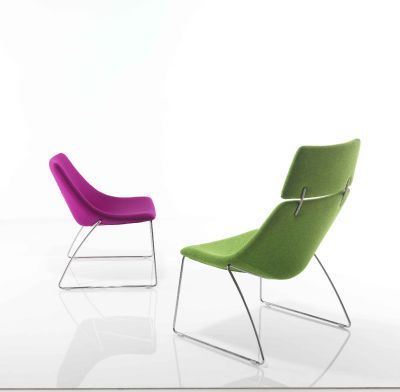 Curveo Designer Seating With Headrest