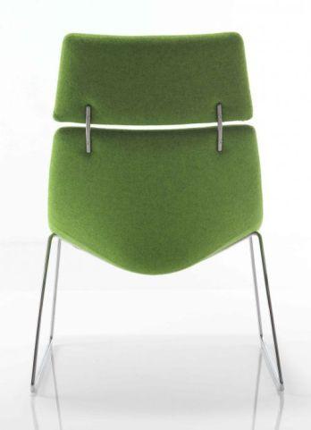 Curveo High Back Tub Chair Rear View