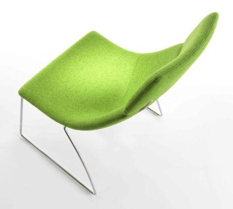 Curveo Designer Chair Aerial View