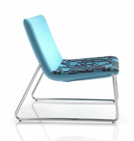 Stromboli Designer Tub Chair Side View