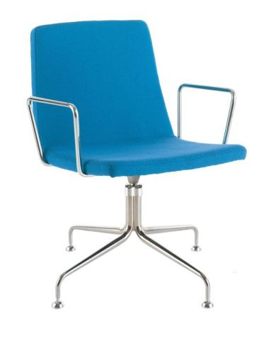 Mars Designer Armchair With Fout Star Swivel Base